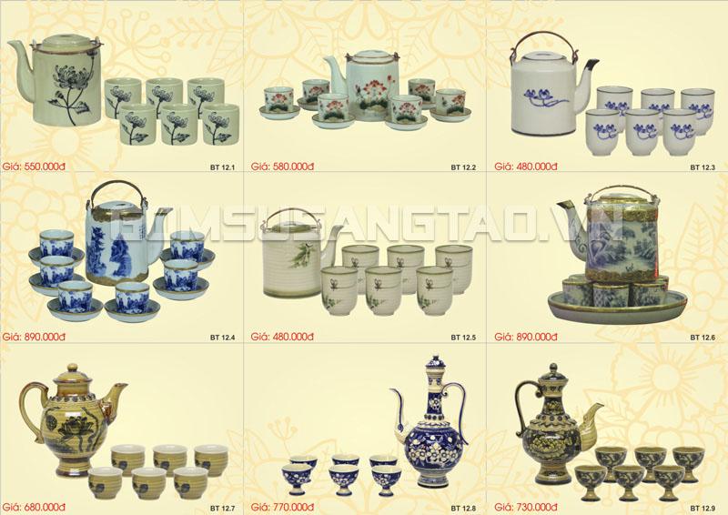 Cửa hàng gốm sứ Bát Tràng tại Tp.hcm uy tín