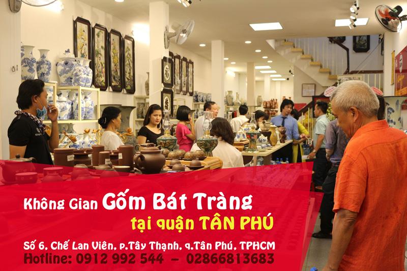 Khai trương Không Gian GỐM BÁT TRÀNG quận Tân Phú, TPHCM