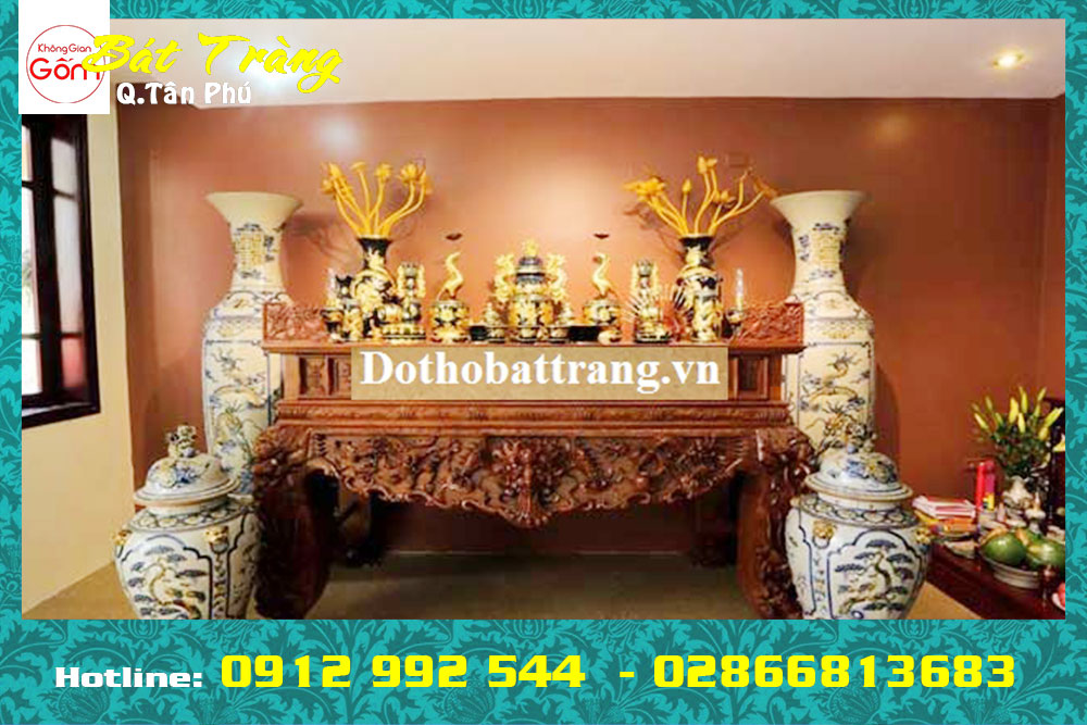 Mua đồ thờ cúng quận Tân Phú giá xưởng [Số 6 Chế Lan Viên, Tây Thạnh, TPHCM]