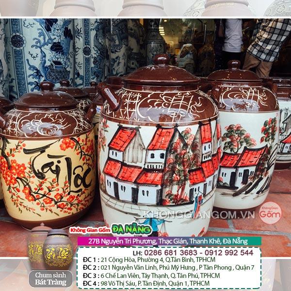 hủ ngâm rượu đẹp tại Hưng Yên