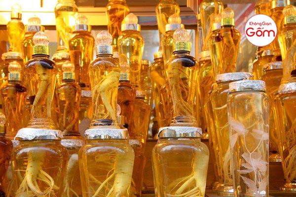 Bình ngâm rượu sâm hàn quốc mua ở đâu tphcm ? ► XEM BẢNG GIÁ