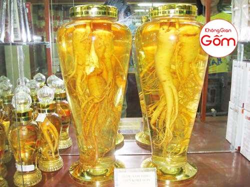 Bình ngâm sâm Hàn Quốc giá rẻ mua ở đâu ? giá bán bao nhiêu tiền tại Hà Nội ?