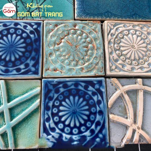 Gạch mosaic lát nền, ốp tường spa