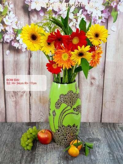 Lọ hoa gốm sứ quà tặng