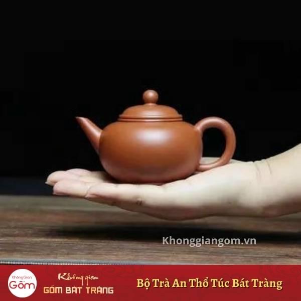 Bộ trà tử sa An Thổ Túc chế tác độc quyền nghệ nhân Bát Tràng