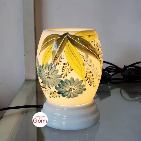 Đèn xông tinh dầu điện dáng xoài (mẫu ngẫu nhiên)