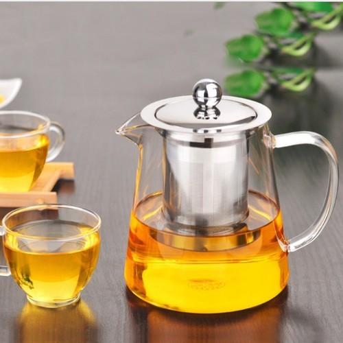 Ấm pha trà thủy tinh cao cấp