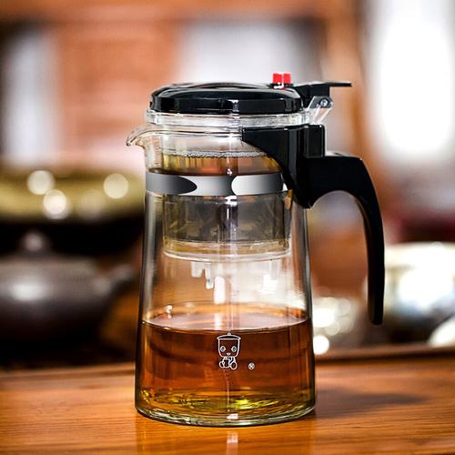 Ấm pha trà thủy tinh có lọc