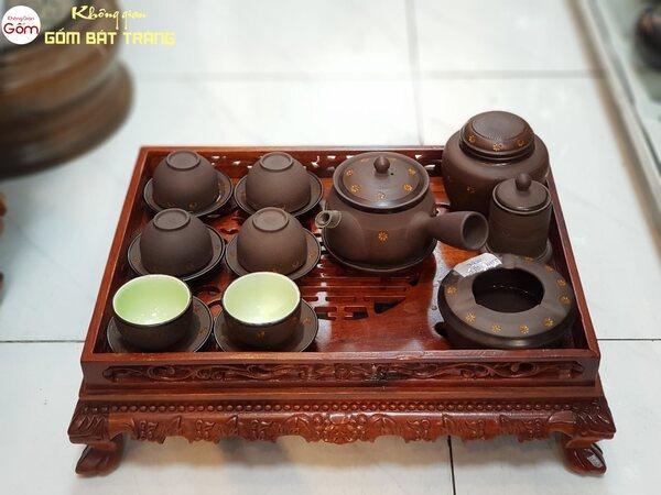 Bộ trà trử sa tay cầm kiểu Nhật