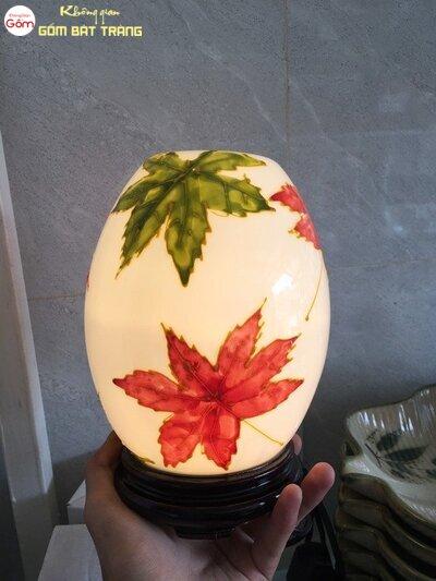 Mẫu đèn xông tinh dầu hình quả trứng